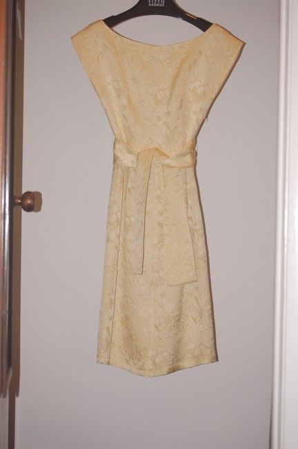 Mon Petit Oiseau short dress gold Vintage-style Yellow on Tradesy