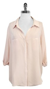 Rory Beca Silk Top Blush