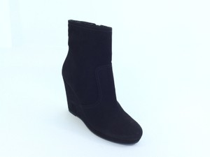 Prada Wedge Black Boots