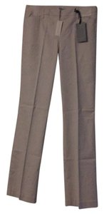 New York & Company Boot Cut Pants White and tan