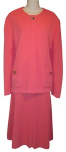 Castleberry Castleberry London New York 2pc Knit Skirt Suit