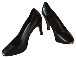 Anne Klein Black With Gold Peep As Seen In Photo Pumps