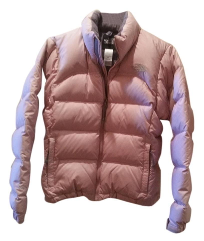 The North Face Pink 700 Down Filled Women s Small Puffer Coat Size 4 ... 3516d4224