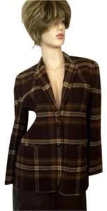 Ralph Lauren Brown plaid Blazer