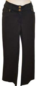 Other Stretch Straight Pants Black