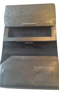 Burberry black burberry leather ipad case