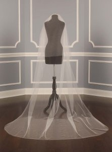 Your Dream Dress Exclusive S204vl Ivory Chapel Length Circle Bridal Veil