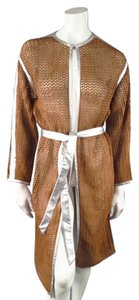 Missoni Mesh Knit See Through Kimono Robe Coat