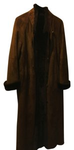 MOVING SALE CHRISTA- made in Italy / Brown Shearling Coat Christa Italian Fur Coat