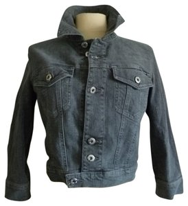 D&G Denim Dolce & Gabbana Gray blue Womens Jean Jacket