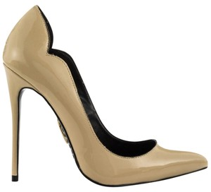 Lust For Life Stiletto Patent Nude Pumps