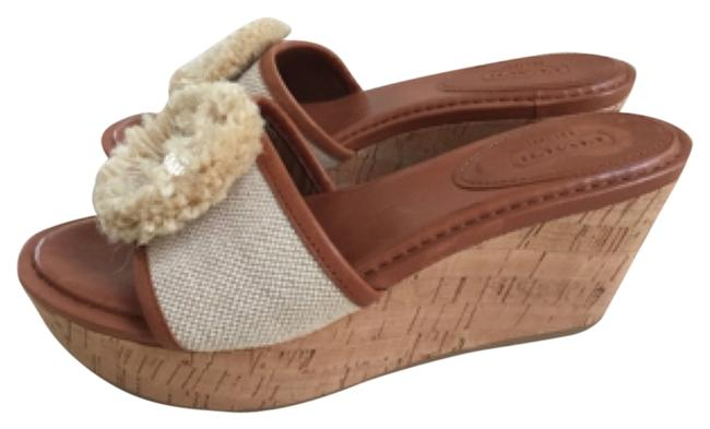 Item - Camel Mules/Slides Size US 8 Regular (M, B)