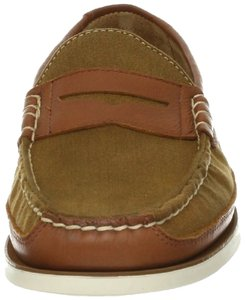 Polo Ralph Lauren Penny Loafer Preppy Leather Slip-on Tan/Tan Flats