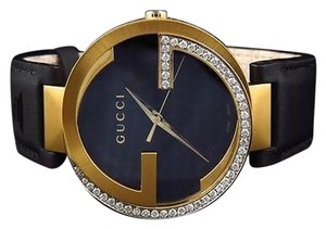 Gucci Mens Gucci Latin Grammy Mm Interlocking Diamond Watch 1.0ct YA133208