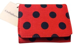 Croft & Barrow Anna Polka Dot Trifold Wallet
