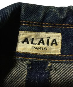 Aaia blue denim Womens Jean Jacket