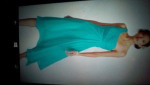 David's Bridal Seafom Green Blue Color. Or