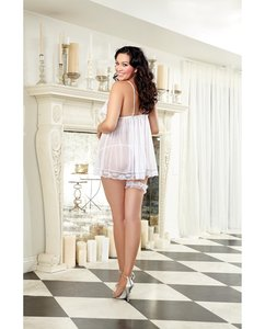 Bridal Honeymoon Bachelorette Lingerie Set - Qn Sz