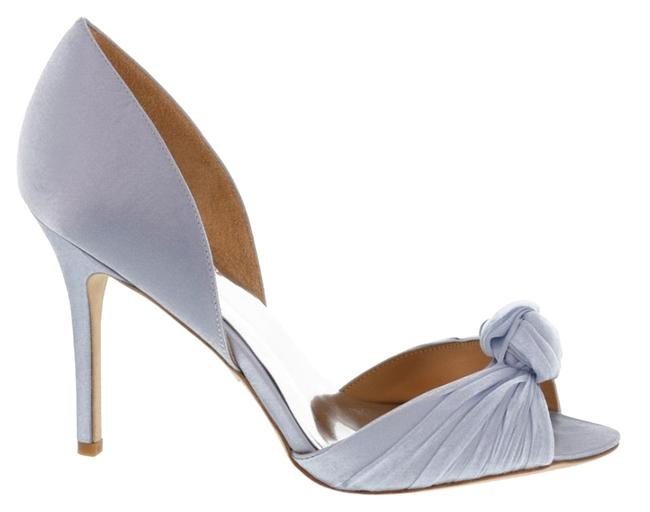 Item - Blue Musica Knotted Evening Pumps Size US 9.5
