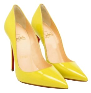 Christian Louboutin Titi (bright yellow) Pumps
