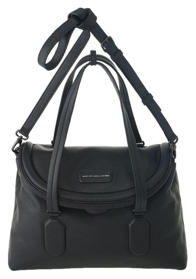 245c9f224c Marc by Marc Jacobs New Silicon Valley Handbag Black Leather Satchel ...