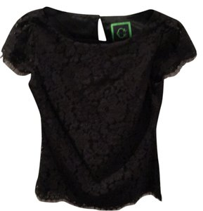 C. Wonder Top Black lace