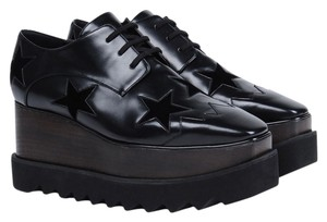Stella McCartney Black Platforms