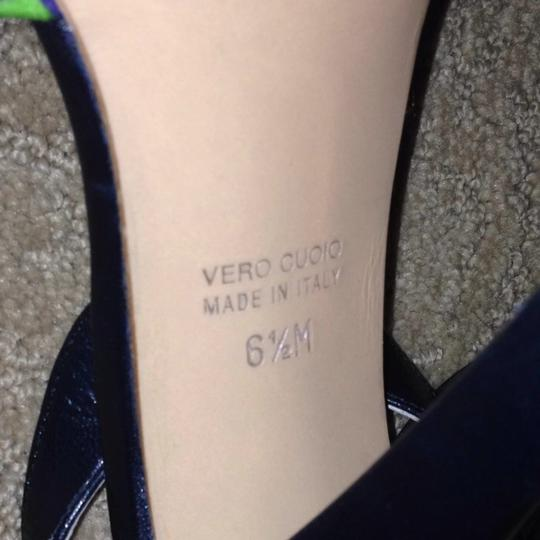 Marc Jacobs Leather Carrie Bradshaw Strappy Heel Classic Party Club Prom Black Pumps