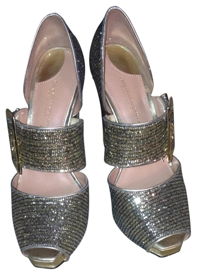 8f45d6bb90 Christian Siriano for Payless Gold #99874 Pumps Size US 6 Regular (M ...