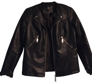 Rue 21 Leather Leather Leather Jacket