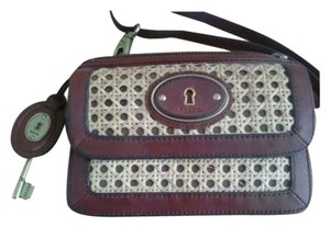 Fossil Vintage Satchel Handbag Cross Body Bag