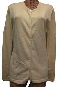 Banana Republic Silk Button Front Cardigan