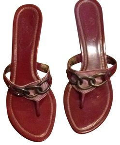 Cole Haan Red Sandals