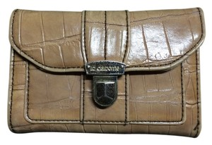 Liz Claiborne Liz Claiborne brown leather wallet