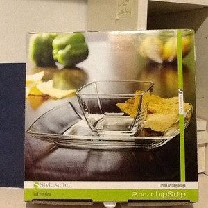 Style Setter Soho Square Chip And Dip Sets