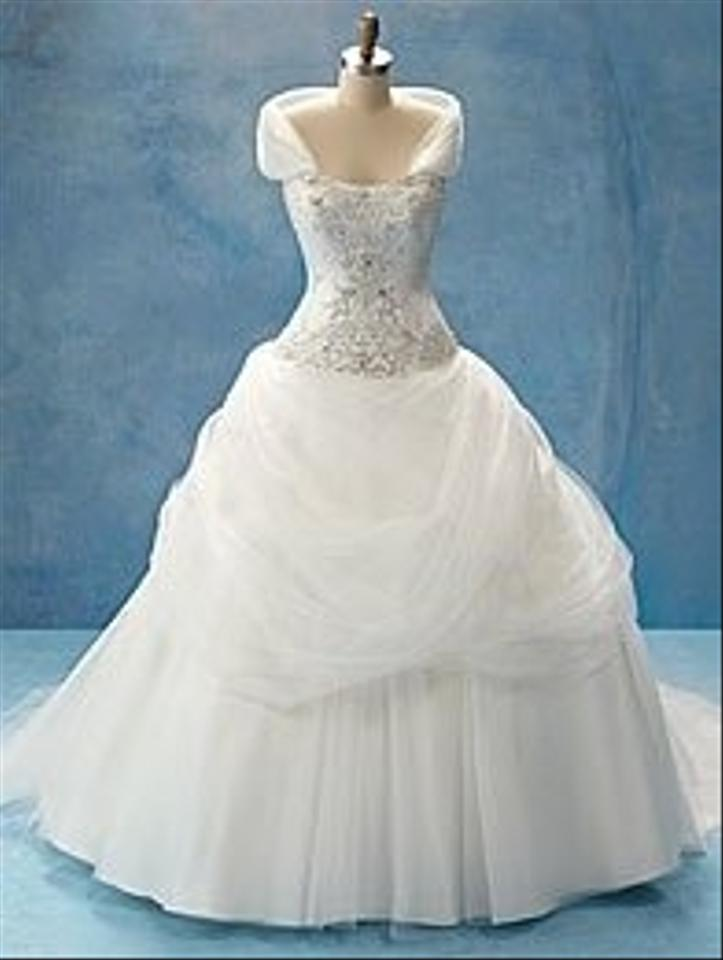 Alfred Angelo White Satin 205 - Disney Princess Line - Belle ...