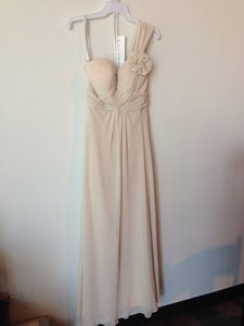 Bill Levkoff Champagne Dress