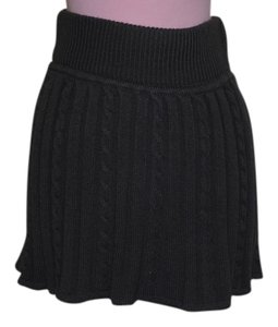 Atmosphere gray knit Mini Skirt GRAY
