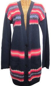 Gap V-neck Pockets Wool Button Front Cardigan