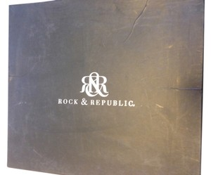Rock & Republic BLUE/BLACK Platforms