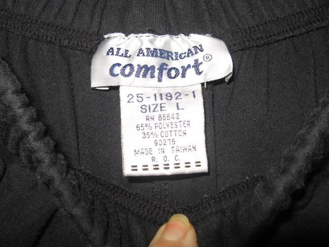 All American Comfort Romans 18w-20w Plus Size Skort BLACK