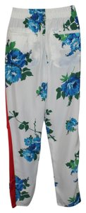 Free People Trouser Pants floral ivory
