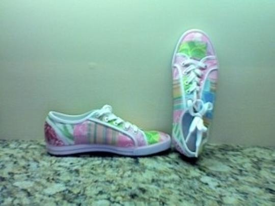 Coach Patch work Pink Athletic