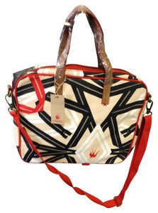 LOQUITA Tote in Multi color canvas