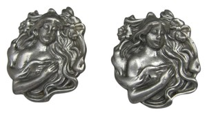 Goddess Earrings - Pewter