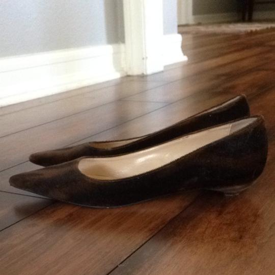 Will's Fancy Brown/Black Flats