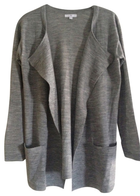 Preload https://item2.tradesy.com/images/gap-heather-grey-sweaterpullover-size-4-s-786181-0-0.jpg?width=400&height=650