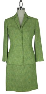 Dolce&Gabbana Dolce&Gabbana green wool blend suit