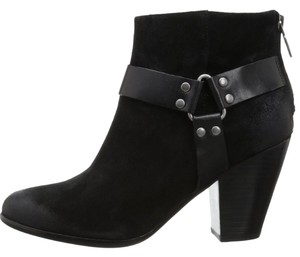 Ash Suede Isabel Marant Chloe Suede Ankle Black Boots