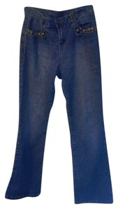 Baccini Straight Leg Jeans-Medium Wash